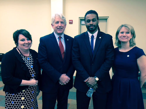 AG Herring, Amy Duncan, Devon Simmons, and Michele Leith