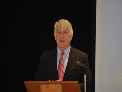 Attorney General Herring was the featured speaker at Hanover/Ashland Triad's Take Charge Monday, May 19, 2014.