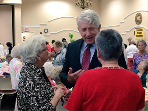 photo - AG Herring at Isle of Wight Triad meeting