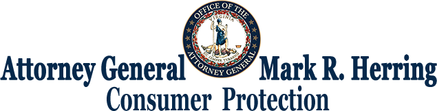 AG Herring's Consumer Protection header