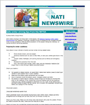 National TRIAD Newsletter - NATI-Newswire
